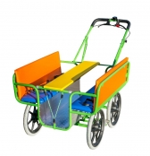 Ideal für die Stadt: Krippen-Ausflugswagen für 6 Kinder