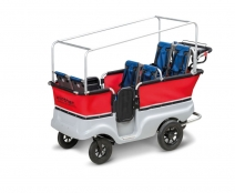 Krippenwagen mit Elektroantrieb von Winther