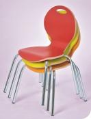 Stuhl IRON mit Stahlrohrgestell