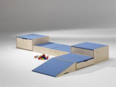 Podestanlagen mit Tretford-Teppich