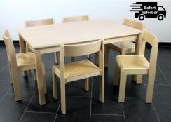 Stuhl-Tisch-Sparsets für KIGA