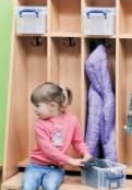 Boxen und weitere Verstaumöglichkeiten für Garderoben