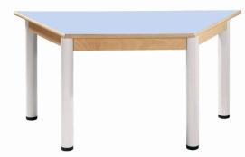 HPL-Tischplatte, höhenverstellbare Beine
