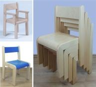 Stühle aus Holz