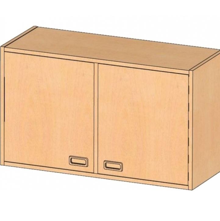 Aufsatz-/Hängeschrank, B/H/T 102 x 60 x 40 cm