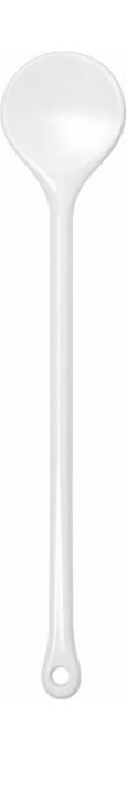 (7) Rundlöffel 31 cm, PBT-Kunststoff (Farbe wählen)