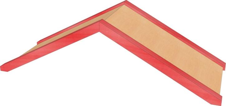 Stollendach, B/H/T: 106 x 34,5 x 40 cm