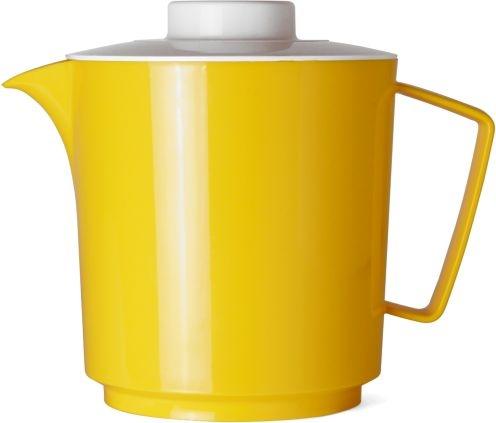 Kanne mit Deckel GELB 1,00 Liter, Ø 120 x H 145 mm, Polypropylen