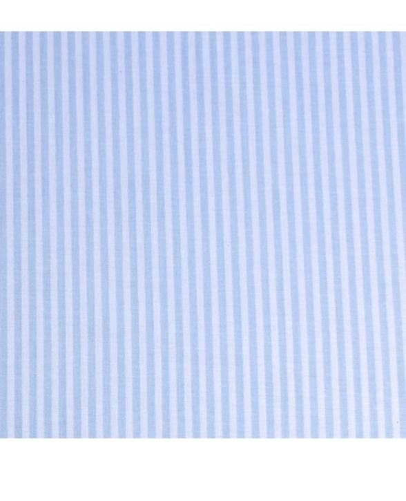 """Bettwäsche """"Streifen hellblau"""", Baumwolle (Ausführung wählen)"""
