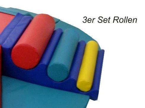 3er-Set Rollen, passend für Babyinsel 11-teilig (Art. 112-022)