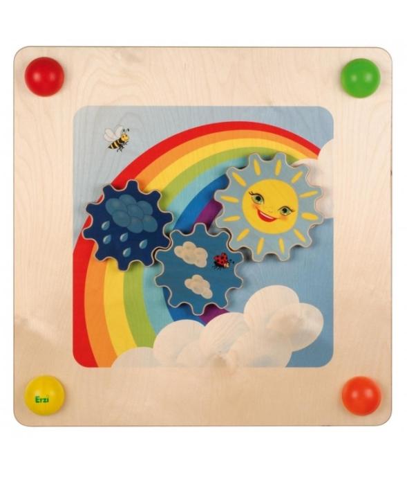 Babypfad Regenbogen