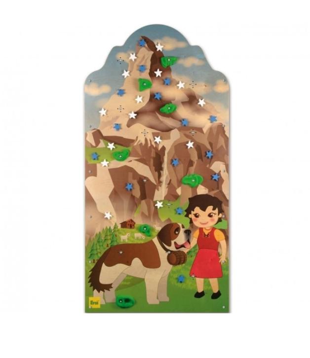 Kletterwand Bergwelt