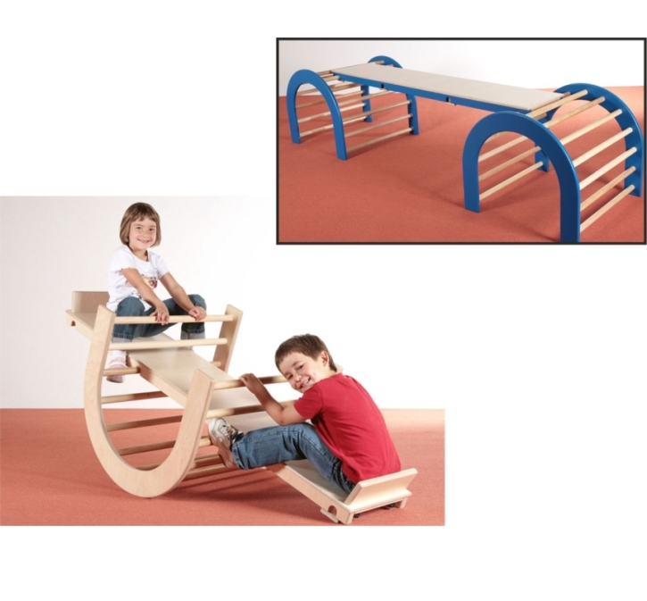 2 in 1: Wippe / Balanciersteg