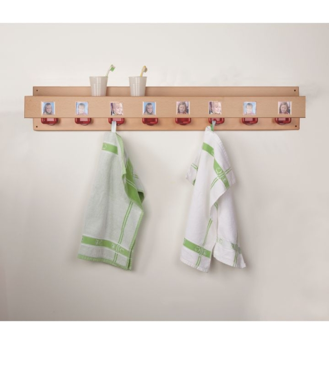 Waschraumleiste mit Ablage, ohne Lochbohrungen