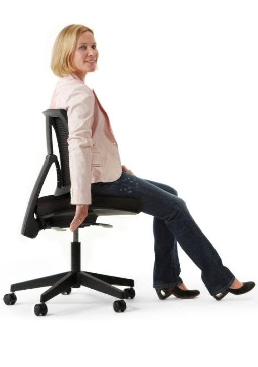 """Der Drehstuhl für die Frau: """"LadyLike"""" ohne Armlehnen"""