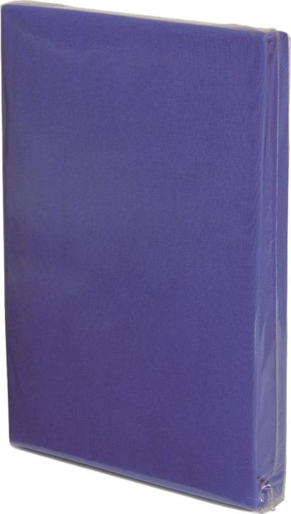 Spannbettlaken BLITZBLAU / ROYAL, Baumwoll-Jersey, Universalgröße 60-70 x 120-140 cm