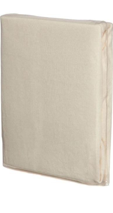 Spannbettlaken aus Frottee, NATUR, Ausführung klein: 50x100 cm