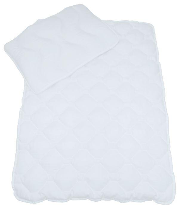 Sparset: Kissen 40x60 cm + Decke 100x135 cm, gesteppt