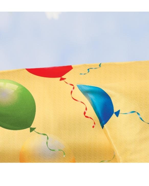"""Bettwäsche aus bügelfreiem Seersucker, """"Luftballon"""" (Ausführung wählen)"""
