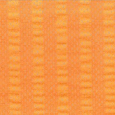 """Bettwäsche aus bügelfreiem Seersucker, """"UNI orange"""" (Ausführung wählen)"""