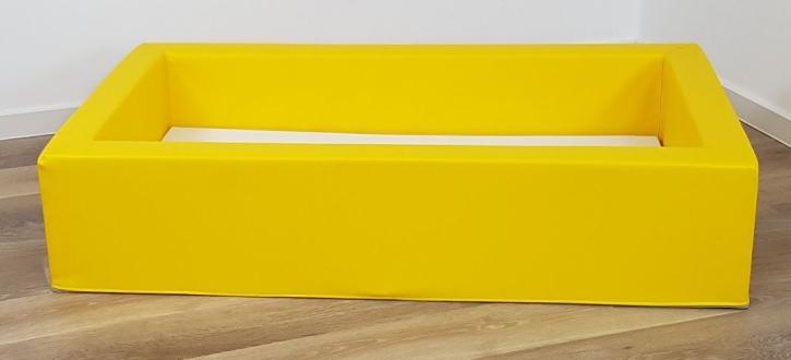 """Stapelbares Schaumstoffbettchen """"Minis"""" (= ohne seitliche Aussparung), Liegefläche 60x120 cm (Ausführung wählen)"""