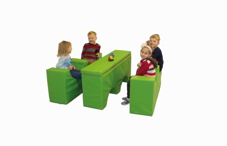 SiTi Sitz-Tisch Modul, 125×90 cm, Höhe 55 cm