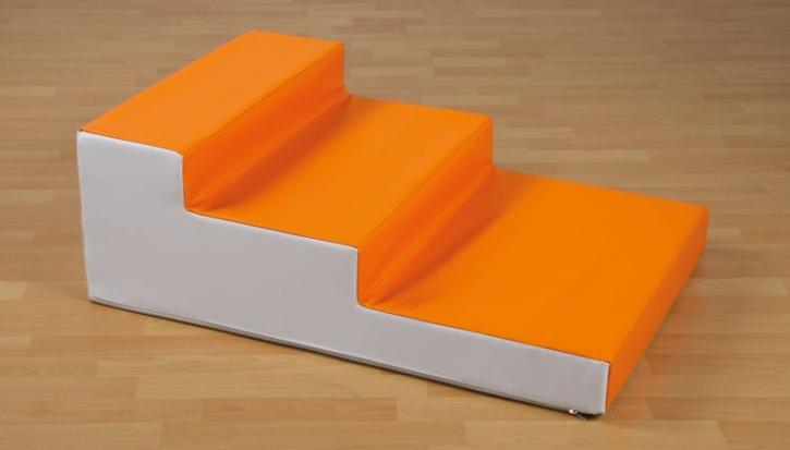 Treppe aus Schaumstoff, B/H/T: 90x30x60 cm
