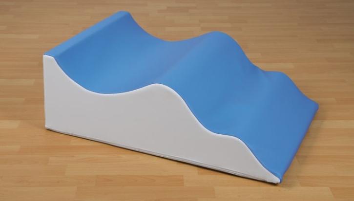 Wellentreppe aus Schaumstoff, B/H/T: 90x30x60 cm