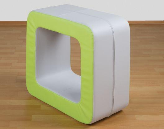 Tor aus Schaumstoff, B/H/T: 60x30x60 cm