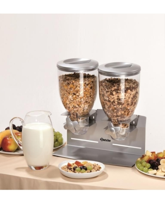 Cerealienspender 2 x 3,5 Liter, B/T/H: 360×170×395 mm