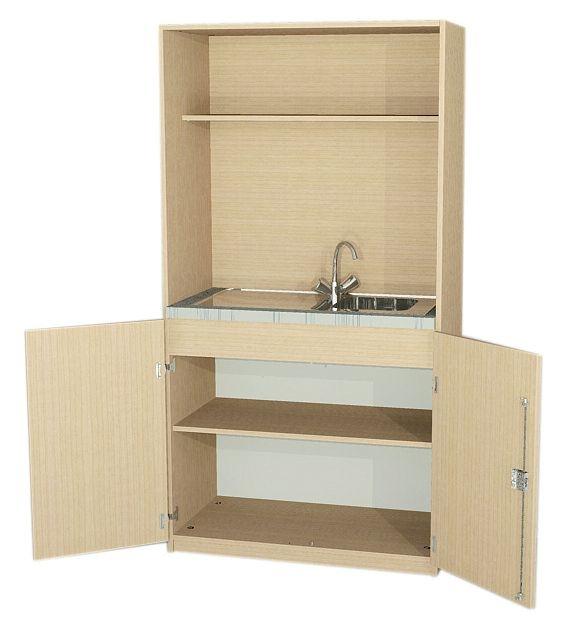 Schrankküche Typ 1, 190 cm hoch (Maße wählen)