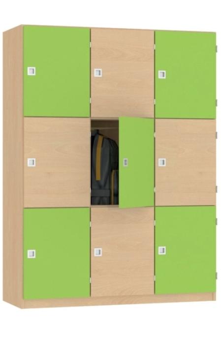 Fächerschrank Variante 2, B/H/T: 128×170×45 cm