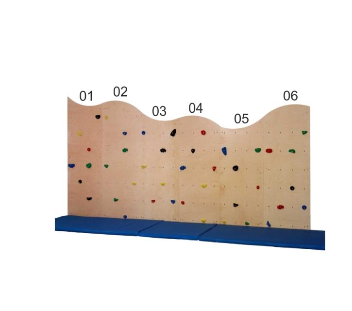 Einzelelemente Kletterwand (Teile wählen!)