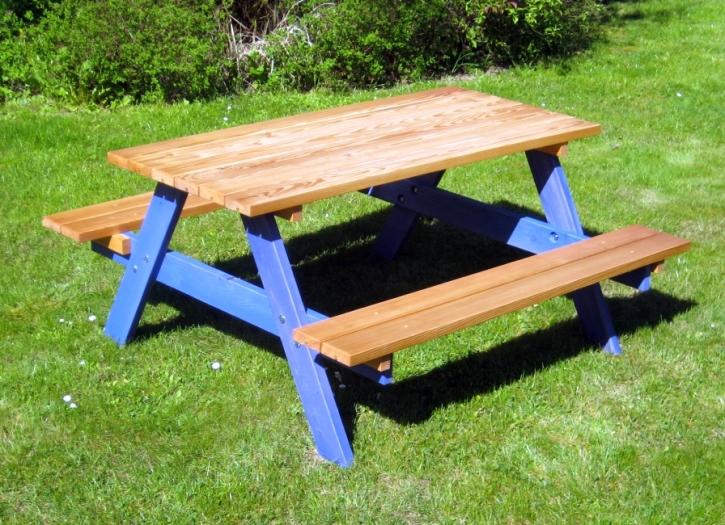 Picknicksitzgruppe ohne Rückenlehne