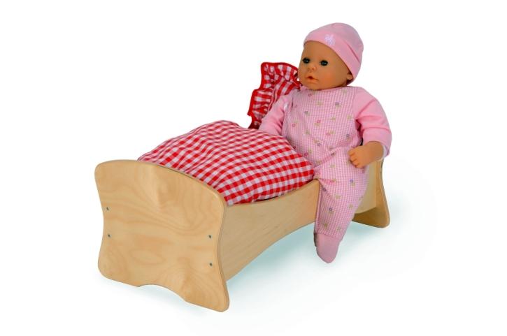 Bett-Wiege-Kombination inkl. Kissen und Decke
