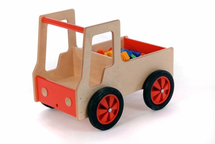 Lastauto aus Holz