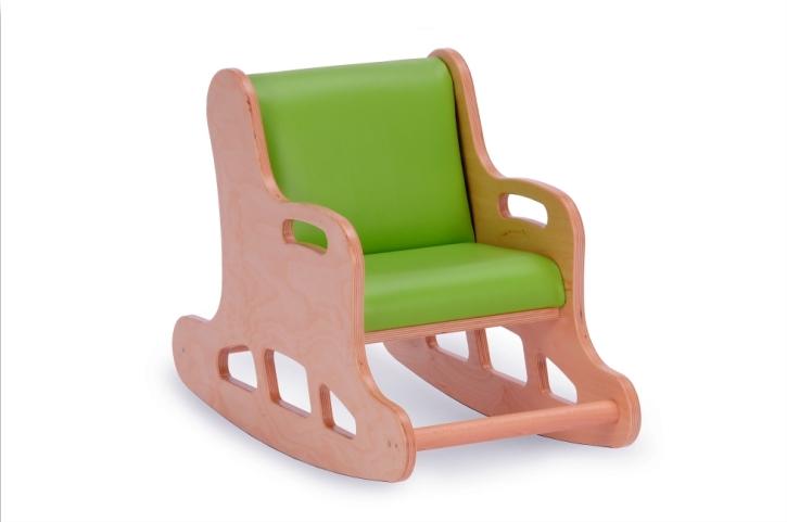 Kinder-Schaukelstuhl, Sitzhöhe 34 cm