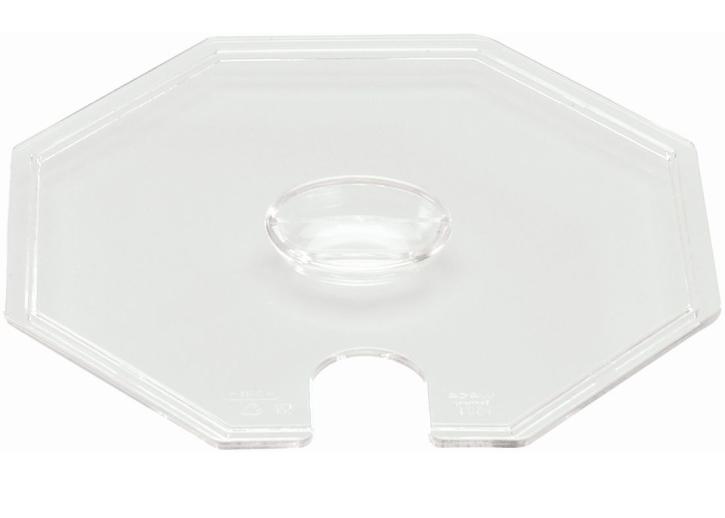 Deckel transparent, passend zu (7) Schüssel 8-eckig klein, 1,50 Liter
