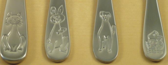 Kinderbesteck Ferdinand - Löffel, 16,0 cm, 24 g