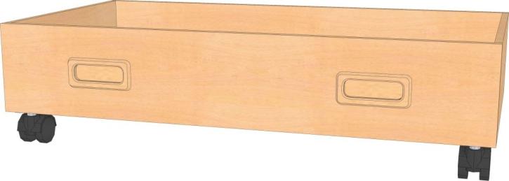 Rollkasten B/T/H : 72 x 40 x 19 cm