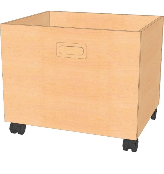 Rollkasten B/T/H : 46 x 40 x 36 cm