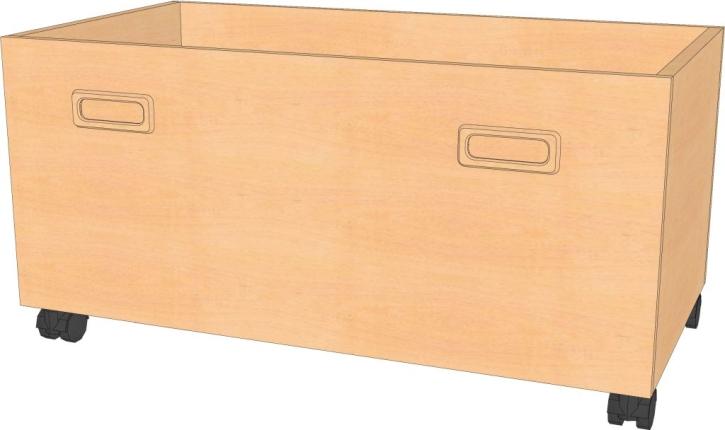 Rollkasten B/T/H : 72 x 40 x 36 cm