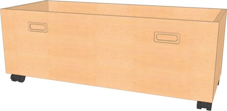 Rollkasten B/T/H : 96 x 40 x 19 cm