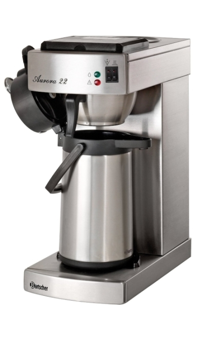 "Kaffeemaschine ""Aurora 22"" inkl. 2-Liter-Edelstahlkanne"