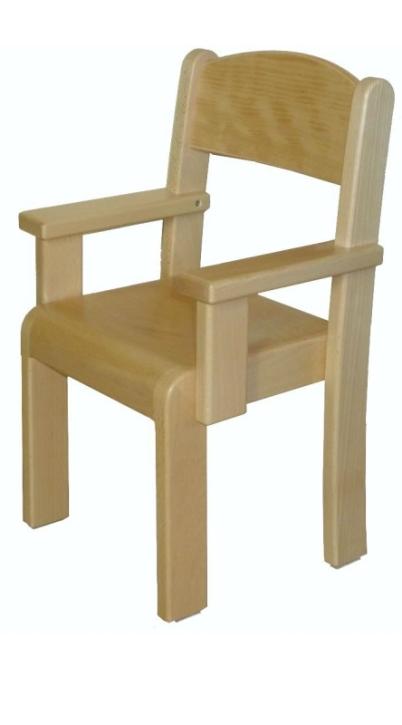 Stuhl ERIC mit Armlehnen Typ 3 (Sitzhöhe 21-35 cm)