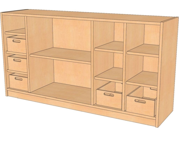 Raumteiler, B/H/T 152 x 80 x 40 cm