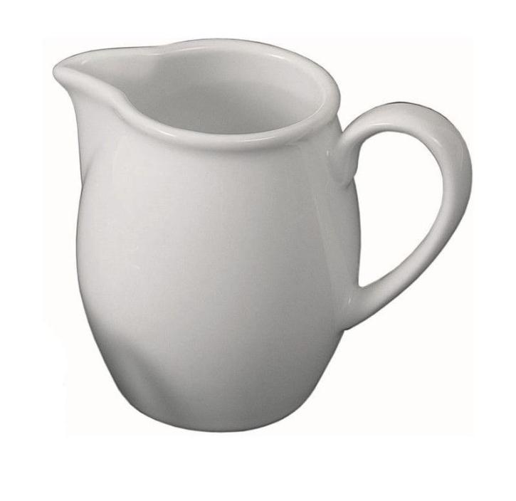 Porzellan gut und günstig - Milchgießer 0,15 Liter, H 75 mm