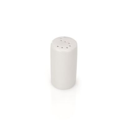 Salzstreuer aus Porzellan, Ø 4,5 × Höhe 8 cm