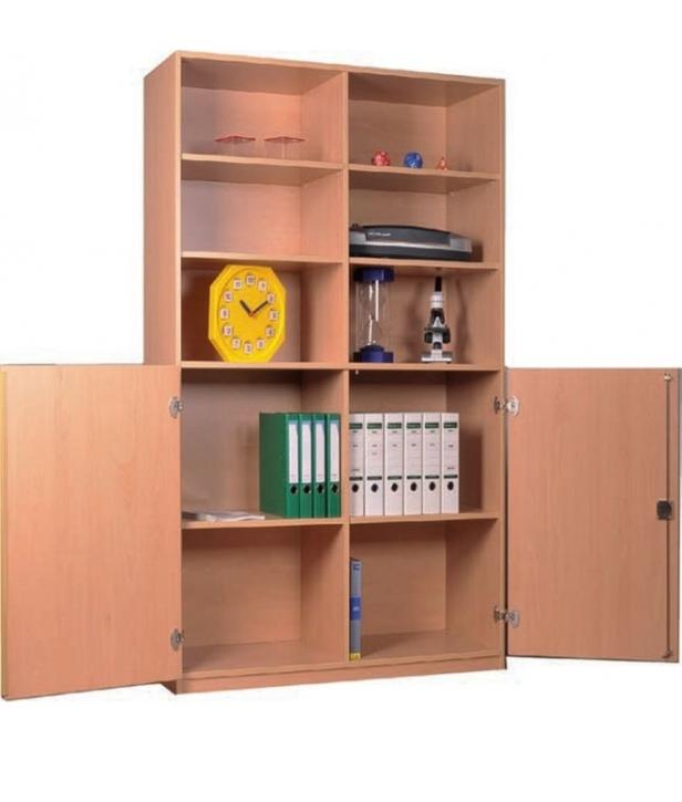breiter Materialschrank B/H/T: 127 x 190 x 50 cm