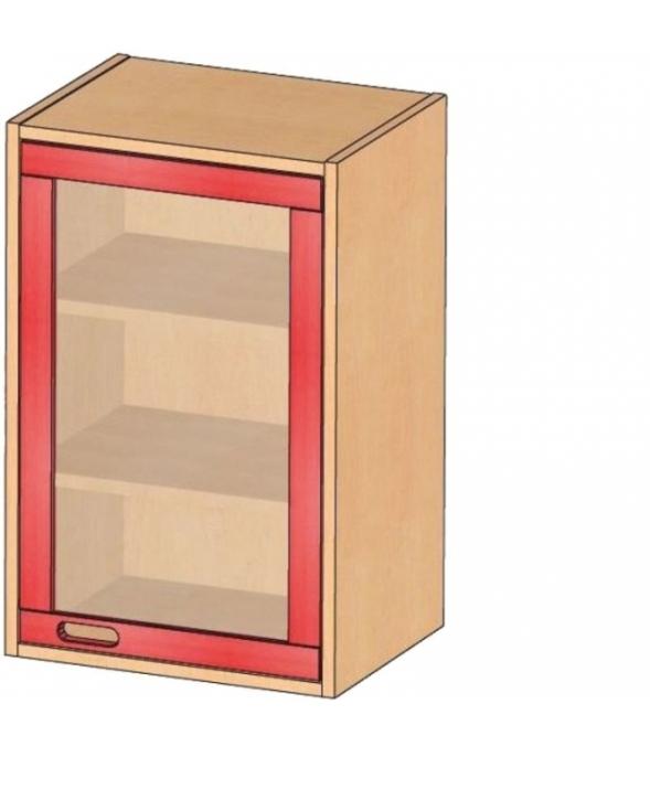 Aufsatz-/Hängeschrank, B/H/T 52 x 80 x 40 cm